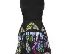 Maleficent Sleeping Beauty Stained Glass Dress