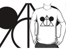 Mickey Mouse Harry Potter Mashup Tee