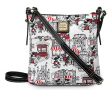 Mickey and Minnie Mouse Downtown Dooney and Bourke Bag