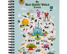 Disney World Travel Journal and Doodle Book