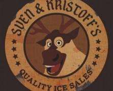 Sven and Kristoff's Ice Company Tee