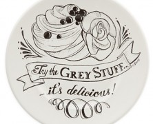 Beauty and the Beast Grey Stuff Plate