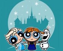 Frozen Powerpuff Girls Mashup Tee