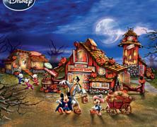 Disney Halloween Harvest Village