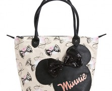 Minnie Mouse Canvas Handbag by Loungefly
