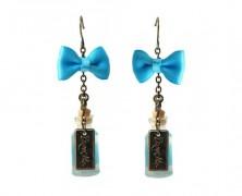 Alice in Wonderland Drink Me Earrings