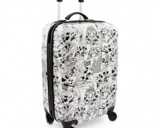 Mickey Mouse Comic Strip Rolling Luggage