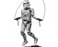 Star Wars Stormtrooper Jumping Rope Tee