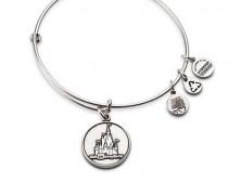 Cinderella Castle Bangle Bracelet by Alex and Ani