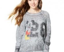 Mickey Mouse Vintage Burnout Sweatshirt