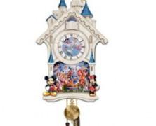Cinderella Castle Cuckoo Clock
