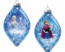 Frozen Anna and Elsa Ornament Set