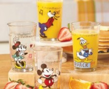 Mickey and Friends Juice Glasses