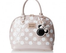 Minnie Mouse Embossed Handbag