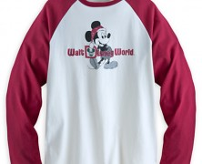 Santa Mickey Disney World Tee for Men