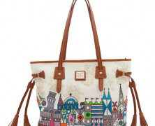 it's a small world Disney Dooney and Bourke Tassel Bag