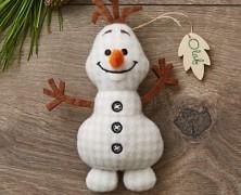 Olaf Storybook Ornament