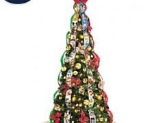 Disney Pre-Lit Pop-Up Christmas Tree