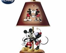 Mickey and Minnie Sweethearts Lamp