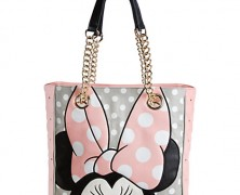 Minnie Mouse Pink Handbag by Loungefly