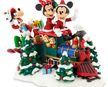Santa Mickey Mouse and Friends Train Figure