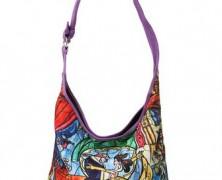 Beauty and the Beast Hobo Bag