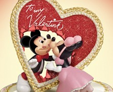 Mickey and Minnie Mouse Sweethearts Music Box