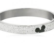 Disney Mickey Mouse Crystal Bangle Bracelet