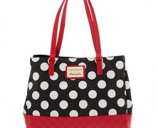 Minnie Mouse Tote Bag by Loungefly