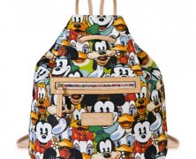 Dooney and Bourke Mickey and Friends Faces Backpack