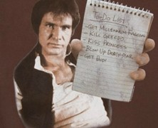 Han Solo To Do List T-Shirt