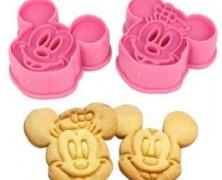 Mickey and Minnie Mouse Cookie Cutters