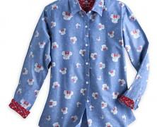 Minnie Mouse Chambray Shirt