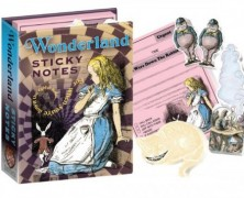 Alice in Wonderland Sticky Notes