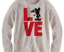Mickey Mouse Love Sweatshirt