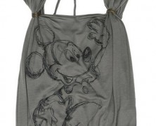 Disney Couture Mickey Mouse Viscose Top