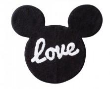 Mickey Mouse Love Bath Rug