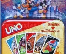 Disney Uno Theme Park Edition