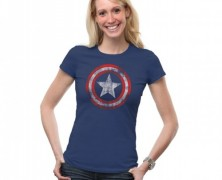 Marvel Avengers Captain America Ladies Tee