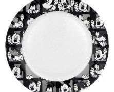 Mickey Mouse and Goofy Dinner Plates Set of Four
