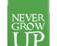 Peter Pan Never Grow Up iPhone Case