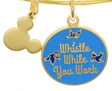 Snow White Whistle While You Work Bracelet by Alex and Ani