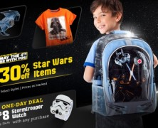 30% Off Star Wars Items at the Disney Store