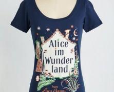 Alice in Wonderland German Tee