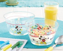 Mickey and Friends Glass Bowl Set