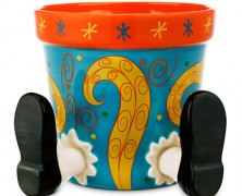 Alice in Wonderland Flower Pot