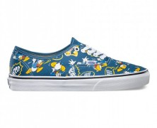Disney Donald Duck Vans Lace-Up Sneakers
