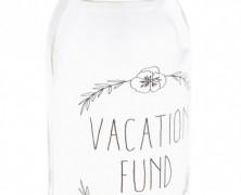Disney Vacation Fund Jar
