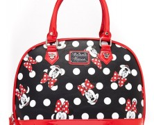 Minnie Mouse Polka Dot Bowler Bag
