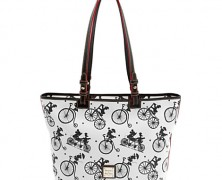 Disney Dooney and Bourke Mickey and Friends Bicycle Handbag